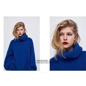 Zara Oversized Roll Neck Sweater